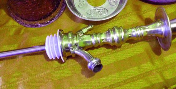 Порядок сборки и применения кальяна