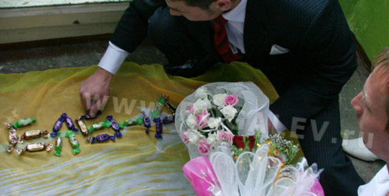 Сценарий выкупа невесты