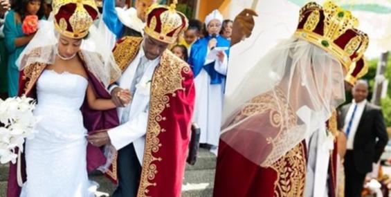 Свадьба разных народов и культур.