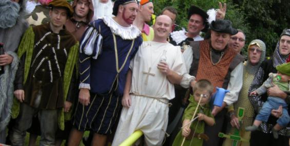 Вечеринка из cредневековья.