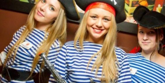 Пиратская вечеринка.