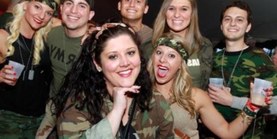 Милитари вечеринка или как устроить армейский праздник.