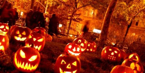 Хэллоуин - 31 октября. День страха. (Сценарий, Игры)
